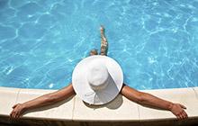 Vacaciones con piscina