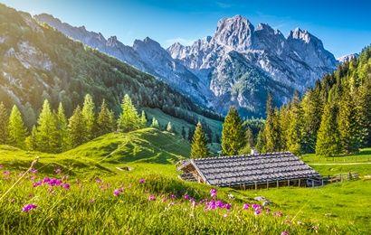 Vacaciones en las montañas en Alemania